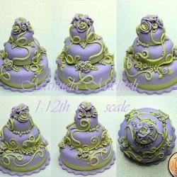 Purple cake - April 2011