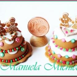 Gingerbread wedding cake - july 2011