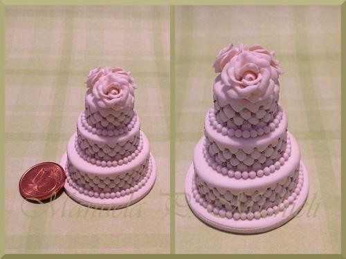 White wedding cake totally hand made cakes - February 2016