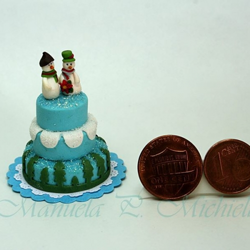 Winter wedding cake - - February 2015