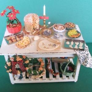 Tavolo bianco natalizio - 2008
