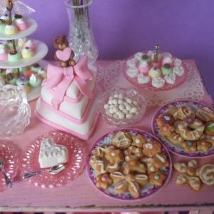 Dettaglio - Tavolo Rosa dedicato a una sposa - 2008
